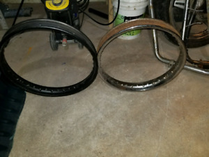 1973 honda cb500 used rim will have to be sandblasted