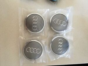 Audi center caps oem made in germany