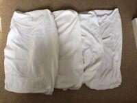 John Lewis Baby Cotton Fitted Sheet Sheet For Crib/Pram (41x90cm), White
