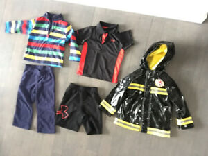 2T toddler boy - SPRING/SUMMER clothes pjs raincoat $60 FOR ALL