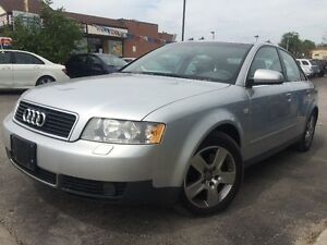 Lease to own in 2 years for $234+hst p/month 2002 Audi A4 3.0