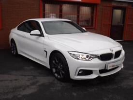 2015 65 BMW 4 SERIES 420D M SPORT 2.0 2D AUTO DIESEL