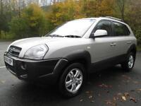 06/06 HYUNDAI TUCSON 2.0 CRTD CDX 4X4 ESTATE IN MET SILVER WITH SERVICE HISTORY