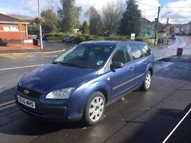 56 plate Ford Focus 1.6 ESTATE AUTOMATIC, just 64k