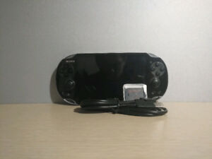 PS Vita with Charger and SD2Vita!