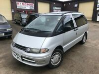 Toyota Estima Lucida 2.2 TD Automatic. 1994 8 seater with long MOT and new cambelt