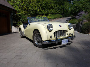 Beautiful 1957 TR3 Small mouth