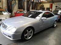 MERCEDES CL 500 5.0 V8 Blue Auto Low Mileage Petrol 2004 (54)