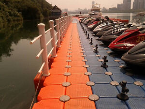 Order FLOATING DOCK now for spring with great discount
