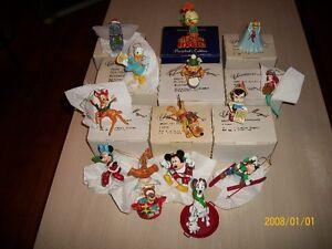14 Figurines Walt Disney décoration de noel.