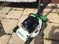 Etesia petrol lawnmower Honda engine