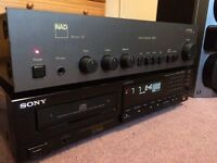 Nad 3020 Amplifier series 20 & Sony CD Player