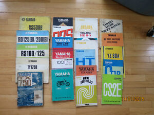 Yamaha Shop and Service Manuals