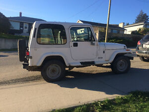 1992 Jeep YJ Convertible