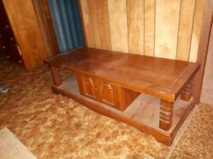 **  REDUCED  **  Coffee table and end tables.