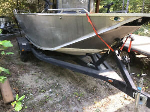 18' shallow water jet boat forsale