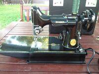 Stunning Singer 221K sewing machine