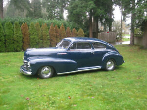 1947 Chevrolet Fleetline Areo Sedan 'Sloper Sled'