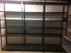 Commercial Steel Shelving