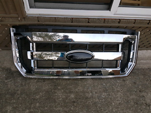 2015 2017 ford f150 front grill chrome used