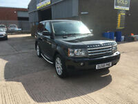 2009 RANGE ROVER 2.7 TDV6 SPORT HSE AUTO,ONLY 71000 MILES WITH FSH