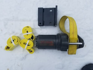 SNOWBEAR or DK2 Plow Winch + Spare Straps