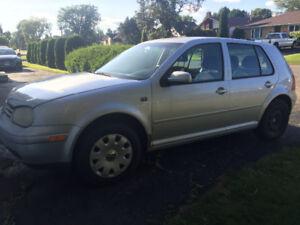 2003 Volkswagen Golf Hatchback-As Is
