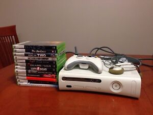 Xbox 360 + 20 GB HD + Games