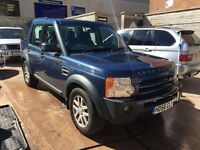 2007 Landrover Discovery 3 Manual xs TDV6 px welcome 7 seater