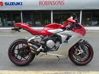 2014 64 REG MV AGUSTA F3 800 LOVELY CLEAN EXAMPLE WITH EXTRAS