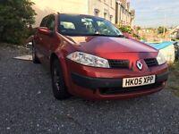 Renault Megane 1.6 petrol 16v vvt
