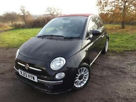 2013 FIAT 500 1.2 Lounge 2dr Convertible 1 OWNER VERY LOW MILEAGE