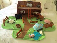 Ikia sofa fabric play farm