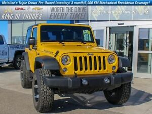 2015 Jeep Wrangler Rubicon | Low KMS | Local Owner  - $239.42 B/