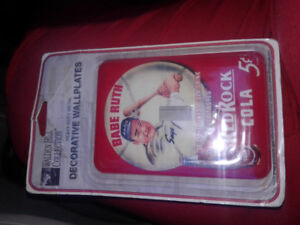 Walden Hills Collection Babe Ruth Metal Switch Cover (New)