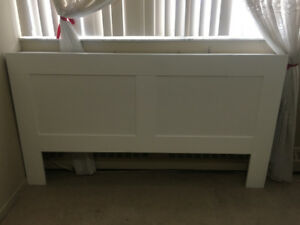 IKEA BRIMNES king size headboard WHITE