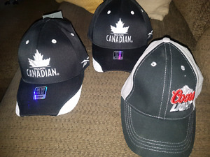 Brand new with tags full back beer hats