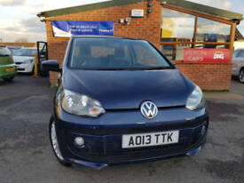2013 Volkswagen up! 1.0 ( 75ps ) High Up FULL SERVICE HISTORY LOW MILAGE