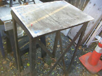 Metal Work-bench Tool Stand, for grinder, drill press, saw, etc