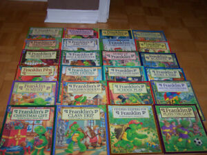 24 FRANKLIN softcover books - very good condition