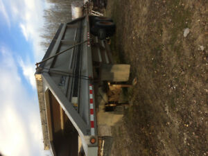 Belly dump trailer excellent condition 1989