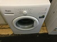 Whirlpool washing machine in mint condition with a three months warranty