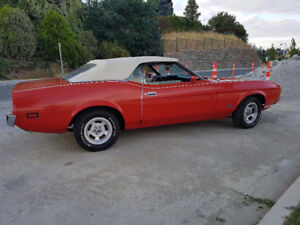 1973 MUSTANG CONVERTIBLE 351 C BARN FIND