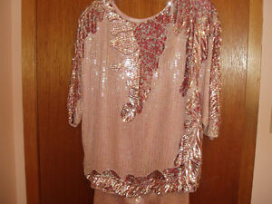 EVENING WEAR 2 PCS SEQUINED DRESS West Island Greater Montréal image 4