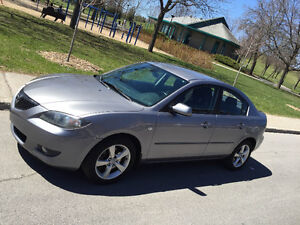 .MAZDA 3 I ,2006, AUTOMATIQUE,CLIMATISE,2L. 4CYL, A/C,TRES PROPR