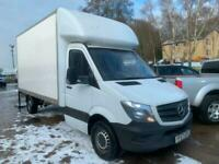 2017 Mercedes-Benz Sprinter 314CDI LUTON VAN, EURO 6' ONLY 7900 MLS, NO VAT