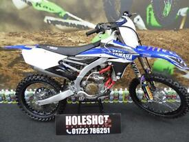 2014 Yamaha YZF 250 Black Excel Wheels Motocross Bike