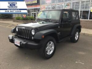 2015 Jeep Wrangler Sport   - Low Mileage,Soft Top,Running Boards