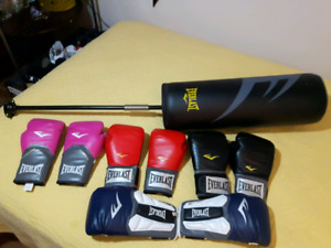 Boxing/Sparring Gloves and Cardio Strike Flex Bag