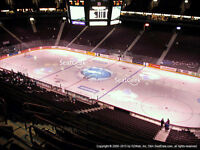 Vancouver Canucks 2015/16 Tickets - ROW 7 SEATS GREAT PRICES!